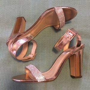 I.Miller Sonji Rose Gold Heels Size 9